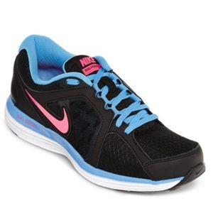 Nike ST3 Dual Fusion BlackFuschiaPeriwinkle Worn4x